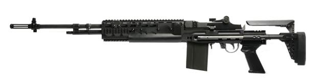 Pre-Order ETA December 2017 G&G Top Tech M14 HBA Full Metal Full Size Airsoft AEG Rifle - (Package: Add 9.6 Butterfly Battery + Smart Charger)