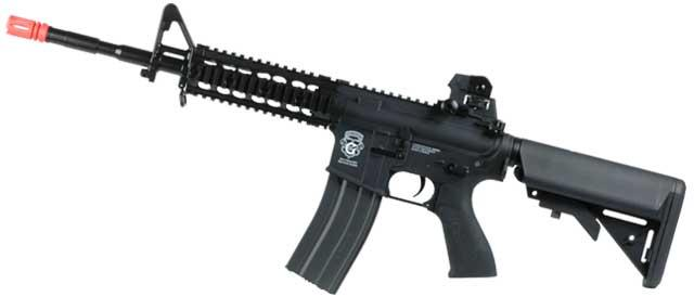G&G GR15 Raider Full Size Carbine Electric Blow Back Airsoft AEG Rifle (Package: Black / Gun Only)