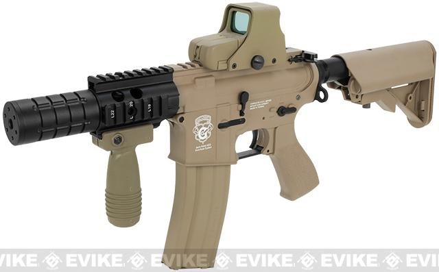 G&G Limited Edition Fighting Cat II Combat Machine Airsoft AEG Rifle (Package: Tan / Gun Only)