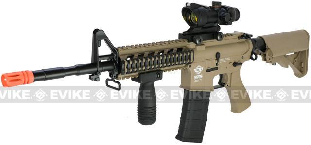 Pre-Order ETA October 2017 G&G Combat Machine 16 Raider Airsoft AEG Rifle (Package: Tan / Add 9.6 Butterfly Battery + Smart Charger)