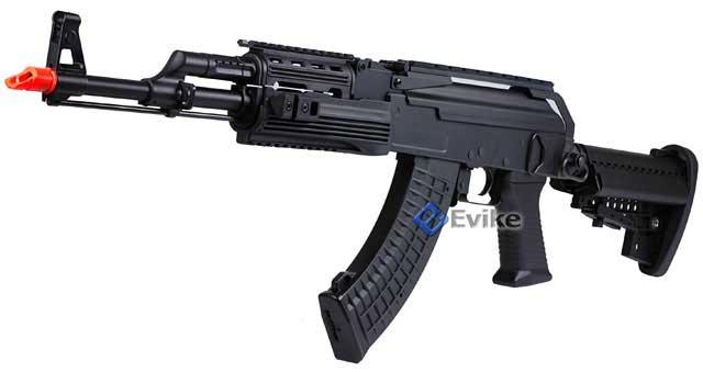 Bone Yard - Echo1 / JG / CYMA Full Metal AK47 Custom Contractors Weapon AK74 (C.P.W) Full Size Airsoft AEG (Store Display, Non-Working Or Refurbished Models)