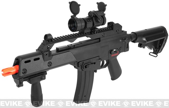 Bone Yard - JG Matrix Custom MK36 Tactical Carbine Full Size Airsoft AEG Rifle (Store Display, Non-Working Or Refurbished Models)