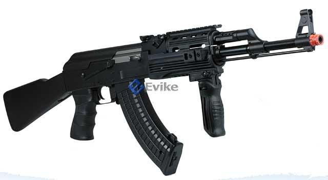Bone Yard - JG AK RIS Full Metal Full Size Airsoft AEG Rifle Package. (Store Display, Non-Working Or Refurbished Models)
