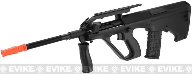 JG Newest Version AUG Civilian Full Size Airsoft AEG Rifle w/ Metal Gear box