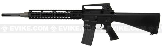z Evike.com Custom KWA High Performance Full Size Full Metal M16A2 DMR Airsoft AEG