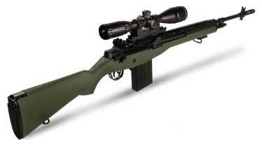 AGM MP008 M14 Full Size Airsoft AEG Sniper Rifle w/ Scope Mount (Package: OD Green / Bipod)