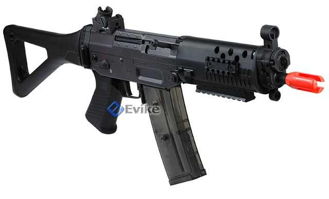 Bone Yard - JG / CYMA Licensed SIG 552 Airsoft AEG Rifle w/ Metal Gearbox (Store Display, Non-Working Or Refurbished Models)