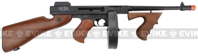 Bone Yard - SoftAir Thompson Model 1928 Chicago Typewriter Airsoft AEG (Store Display, Non-Working Or Refurbished Models)