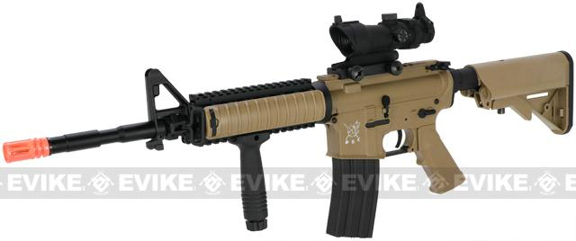 SRC M4 RIS Airsoft AEG Rifle (Color: Tan)