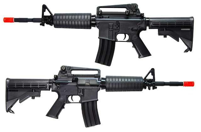 Bone Yard - SRC M4A1 Carbine Full Size Airsoft AEG w/ Metal Gearbox (Store Display, Non-Working Or Refurbished Models)