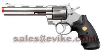 UHC Cobra  Spring Revolver (Length: 6 / Silver with Black Grips)