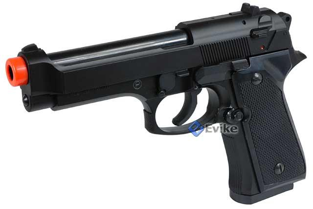 Pre-Order ETA August 2020 HFC M9 High Grade Heavy Weight Airsoft Pistol (Color: Black)