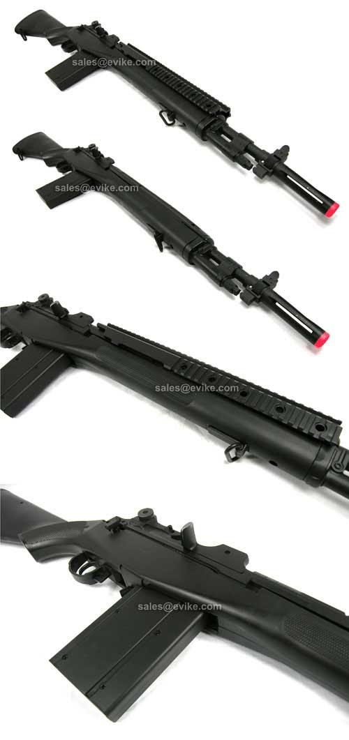Bone Yard - Full Size M14 / SOCOM16 Movie Prop Spring Airsoft Rifle (Store Display, Non-Working Or Refurbished Models)