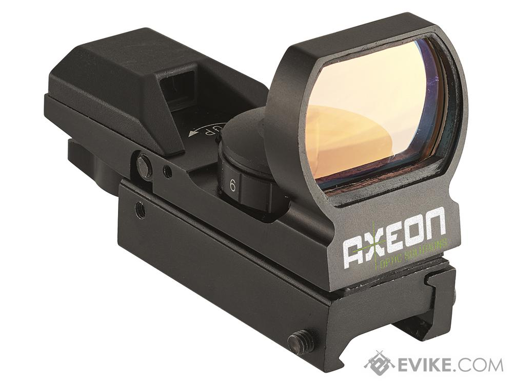 Axeon 4-RS Multi Reticle Hooded Reflex Sight