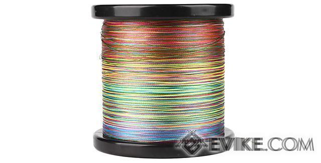 Battle Angler 8x depth finder color coded braid PE fishing line (Size: 50 Lbs)