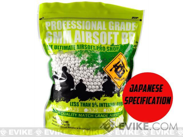 Evike.com MAX Precision Japanese Spec. 6mm Airsoft BBs (Weight: .20g / 5000 Rounds / White)