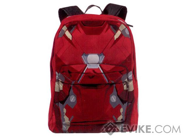 Marvel Comics Civil War Iron Man Armor Backpack