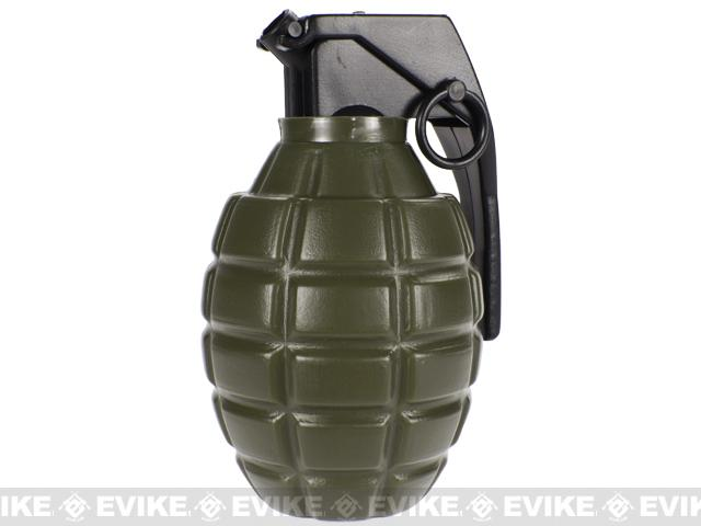 Airsoft Grenade Shape Loader Bottle with BBs (Weight: .12g / 800 Rounds)