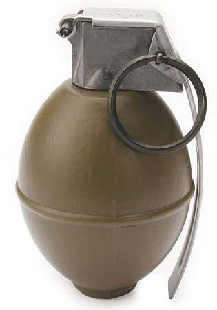 G&G M26 Dummy Hand Grenade Movie Prop BB Loader.