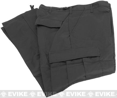 B.D.U. Pants 65/35 - Black (Size: Small)