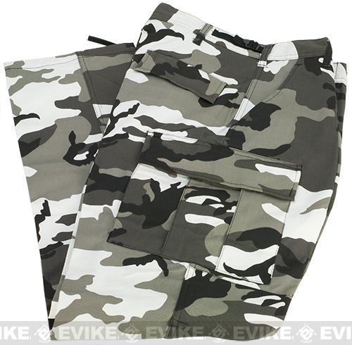 B.D.U. Pants 65/35 - City Camo (Size: Small)