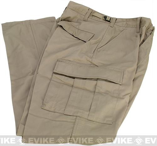 B.D.U. Pants 65/35 (Color: Khaki / X-Large)