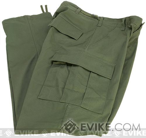 B.D.U. Pants 65/35 - OD Green (Size: Large)
