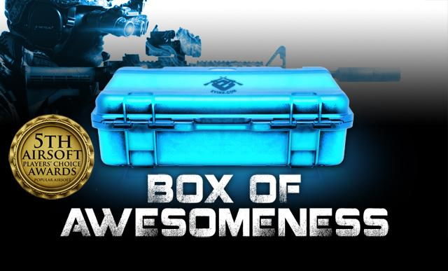 The Box of Awesomeness (Edition: Airsoftcon Fan Appreciation Edition)