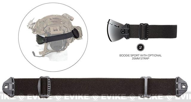 Smith Optics Replacement 35mm Strap for Boogie Sport Goggles - Black