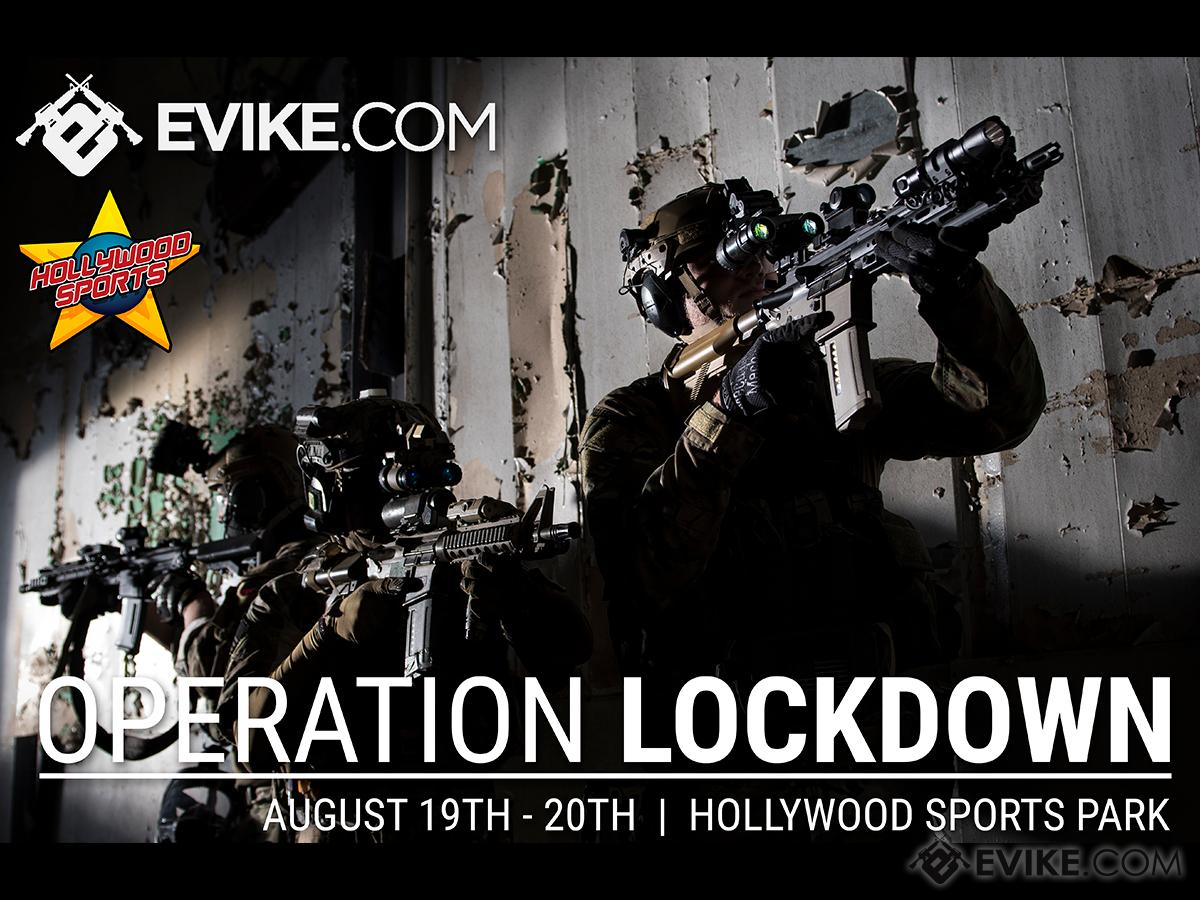 Operation Lockdown Overnight Tracer ONLY Event - August 19th and 20th 2017 at Hollywood Sports Park (Team: SOCOM / Bring Your Own Tracer)
