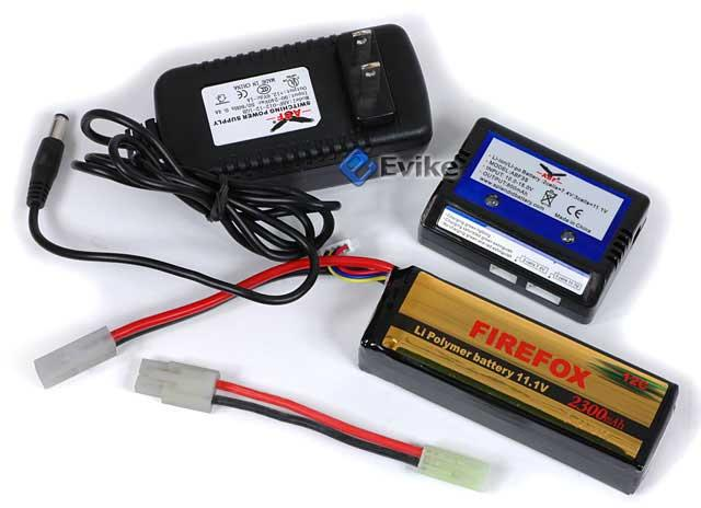 Firefox High Performance 11.1V 2300mAh Li-Poly Battery & Charger Set