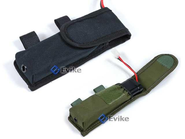 Matrix Tactical External Battery Pouch for Airsoft AEG (Black)