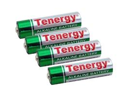 Tenergy AA Size High Quality Alkaline Batteries (Set of 4)