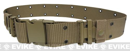Condor Military Style Type Alice Sys. Quick Release Tactical Pistol Belt - Tan