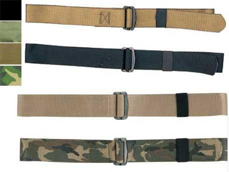 Adjustable Nylon BDU Belt - Black