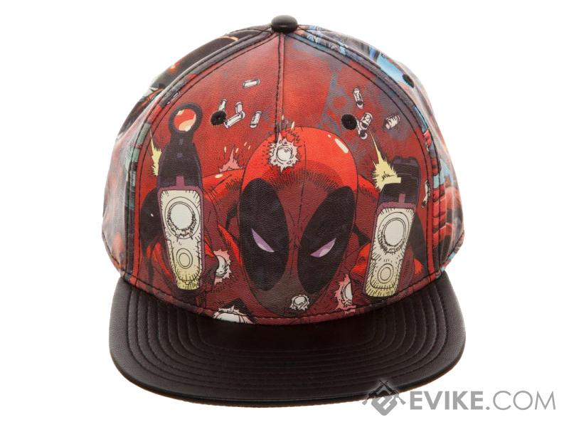 Bioworld Marvel Deadpool Printed PU Snapback