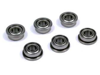SHS 7mm CNC Precision Steel Grooved Bearing Bushing for Airsoft AEG