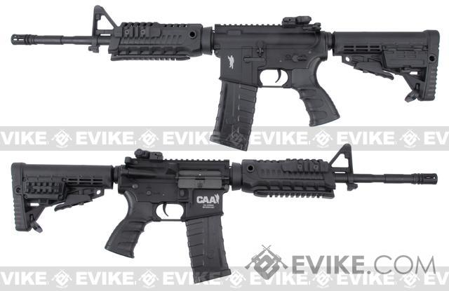 Pre-Order ETA June 2019 CAA Licensed Airsoft AEG Rifle by King Arms (Model: M4 Carbine Black)