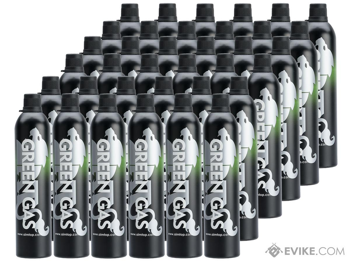 Aim Top / Airsoft Arms Power Large 1100 Green Gas (Quantity: 36 Cans)