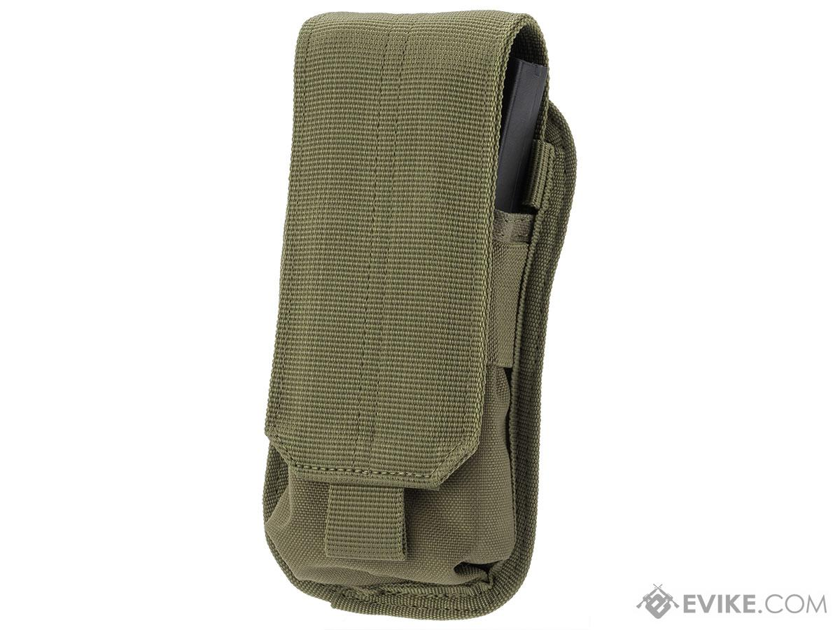 Condor MOLLE M4 Buttstock Magazine Pouch (Color: OD Green)