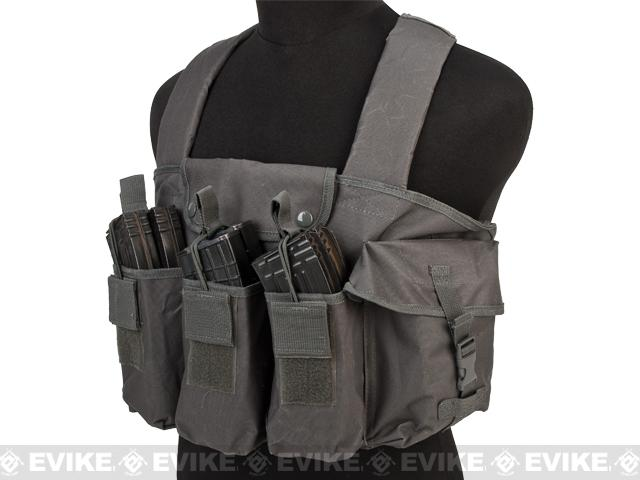 VISM / NcStar Tactical AK Chest Rig - Urban Grey