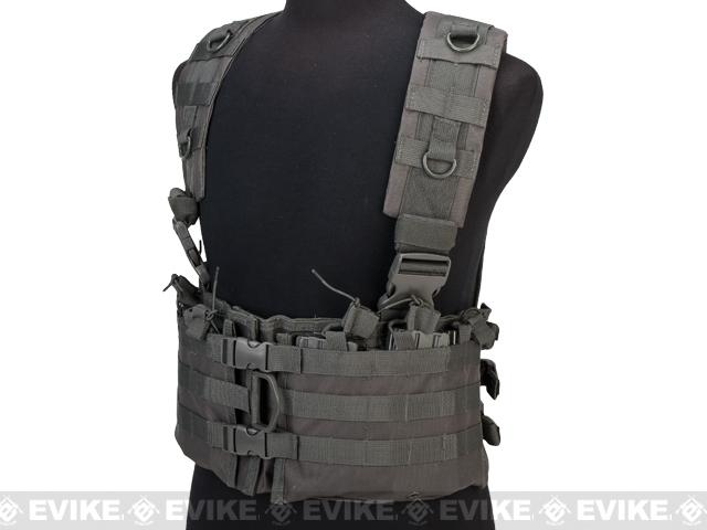 NcStar AR-15 M16 Type Chest Rig - Urban Grey