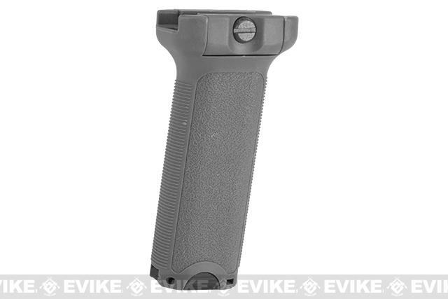 Dytac Ergonomic Vertical Grip - Long (Color: Midnight Grey)