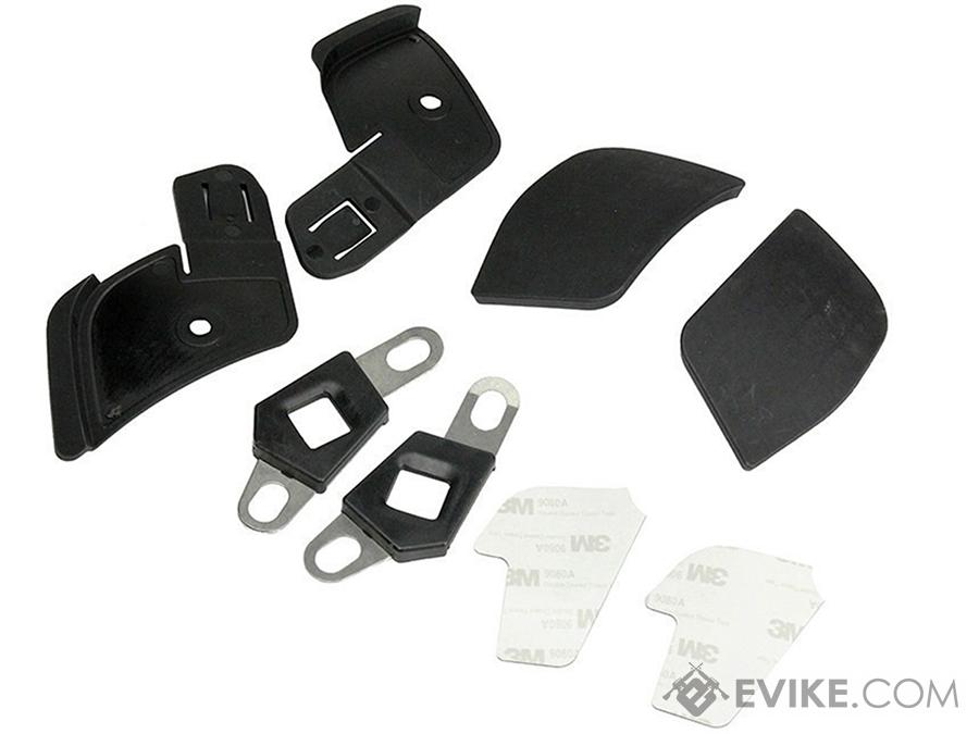 FMA Side Covers for Airflow Helmet (Color: Black)