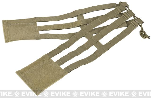 Emerson 3-Band Lite Cummerbund for JPC Style Plate Carriers - Tan