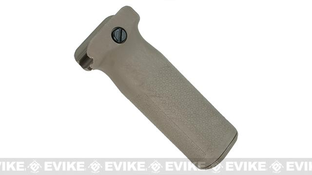 PTS Enhanced Polymer Foregrip (EPF) Vertical Grip for Airsoft Hand Guards (Color: Flat Dark Earth)