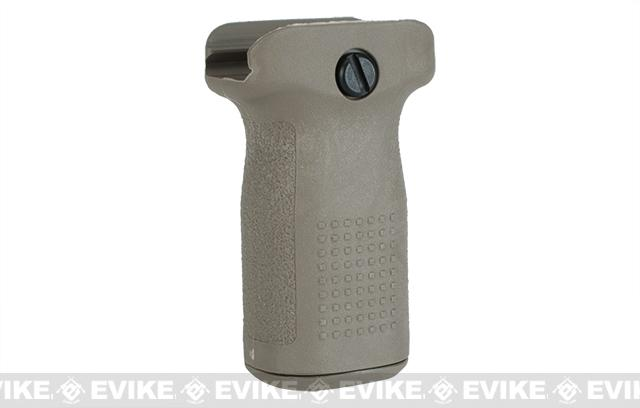 PTS Enhanced Polymer Foregrip-Short (EPF-S) Vertical Grip for Airsoft Hand Guards (Color: Flat Dark Earth)