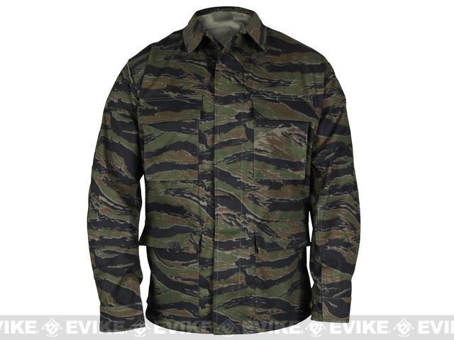 Genuine Gear™ by PROPPER™ BDU Coat - Tiger Stripe (Size: Large)