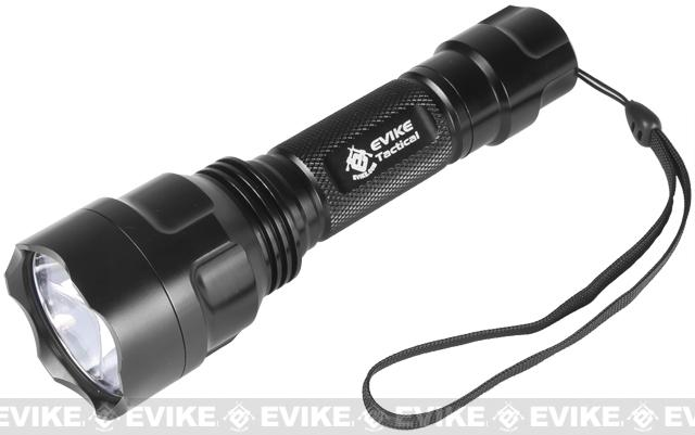Evike.com High Power M500 C8 CREE LED Combat Tac Light w/ AI Tail Cap and SOS Strobe Feature