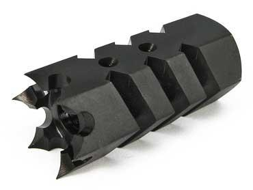 Airsoft Shark Muzzle Flashhider for Airsoft AEG (Thread: 14mm Positive)